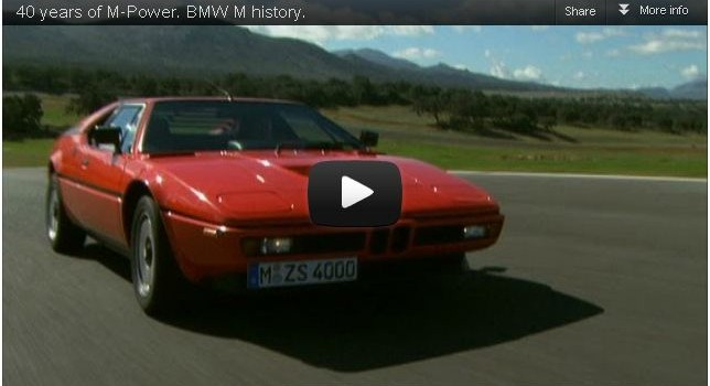 40 years of BMW M-Power