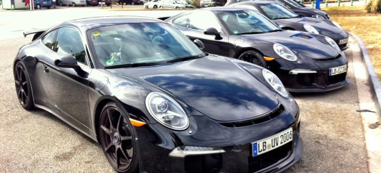 Porsche 911 GT3 spy shots!