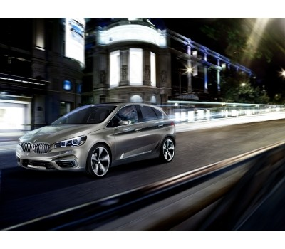 Introducing the BMW Concept Active Tourer