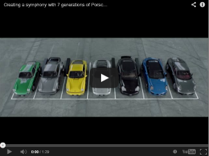 Listen As 7 Generations Of Porsche 911 Sing Happy Birthday To Each Other