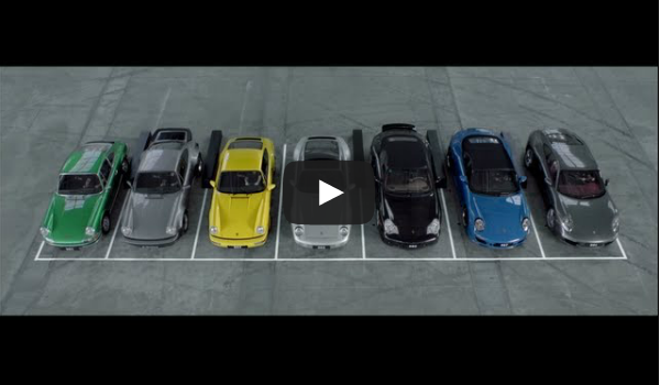 7 Generations of Porsche 911 Singing Happy Birthday