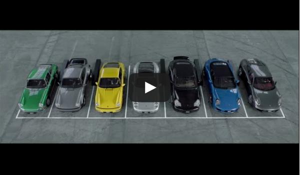 7 Generations of Porsche 911 Singing Happy Birthday