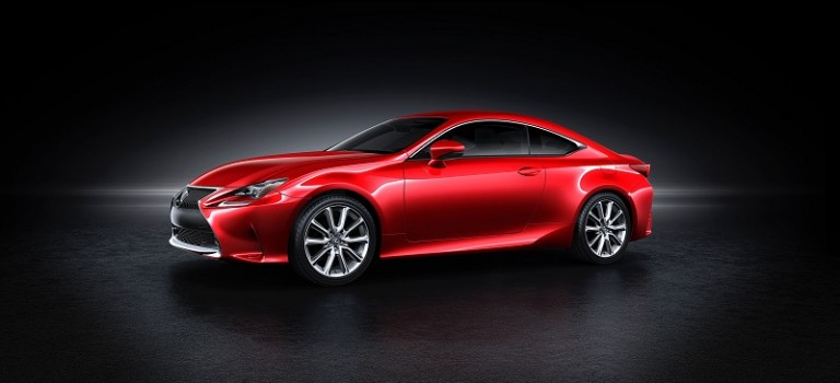 Lexus Unveils All-New RC Coupe