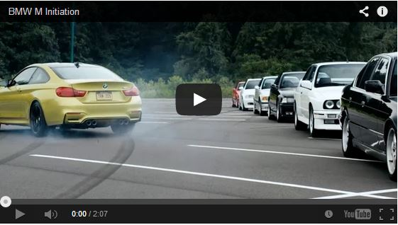 BMW M Division knows how to welcome a new member of the family, the all new for 2015 BMW M4. Enjoy the video.