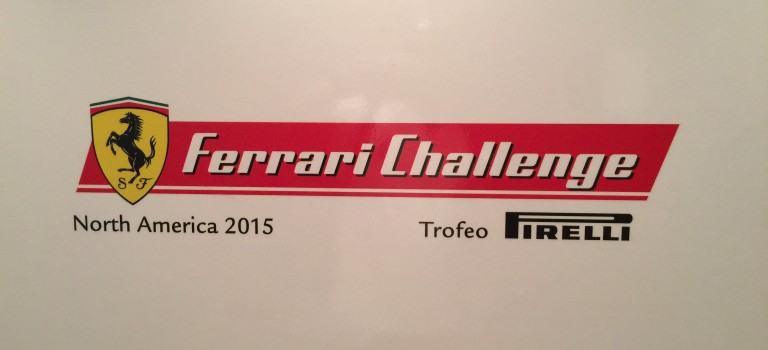 Welcome back Ferrari Challenge to the Homestead-Miami Speedway