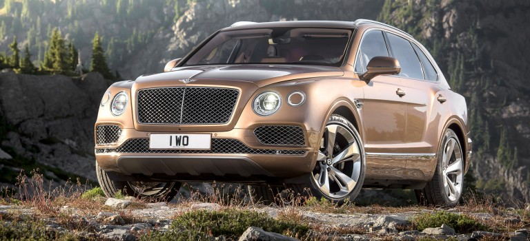 Super Luxury SUV by Bentley launched at Braman Motors, Miami