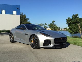 jaguar f type day shot