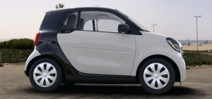smart fortwo sideview